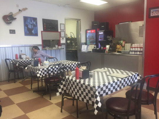 DINERS GRILL INTERIOR