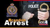 Brandon Arrest Graphic
