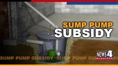 SUMP PUMP SUBSIDY