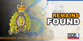SELKIRK | RCMP SAY HUMAN REMAINS FOUND ON BANKS OF RED RIVER