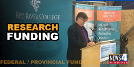 EDUCATION | RED RIVER COLLEGE GETS $4.5 MILLION FOR RESEARCH LAB