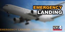 EMERGENCY LANDING IN WINNIPEG