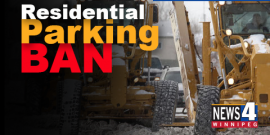 RESIDENTIAL PARKING BAN BEGINS WEDNESDAY @ 7PM