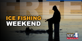FREE ICE FISHING THIS WEEKEND IN MANITOBA