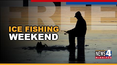 free ice fishing graphic