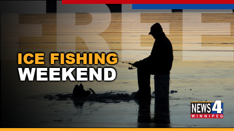 free ice fishing graphic