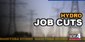 MANITOBA HYDRO CUTS MORE THAN 900 JOBS