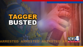 TAGGER BUSTED GRAPHIC