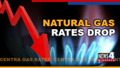 GAS RATES DROP GRAPHIC