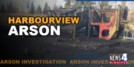PLAY STRUCTURE DESTROYED BY ARSON WILL BE REPLACED SAYS CITY