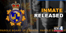 YULETIDE BANDIT RELEASED FROM PRISON