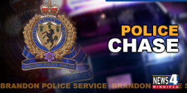 RECKLESS SPEEDER BUSTED IN BRANDON AFTER POLICE CHASE