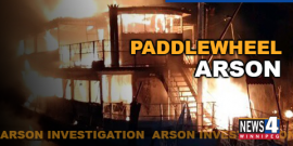 RCMP ARREST 4 YOUTH IN PADDLEWHEEL PRINCESS ARSON