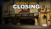 Academy Lanes closing graphic
