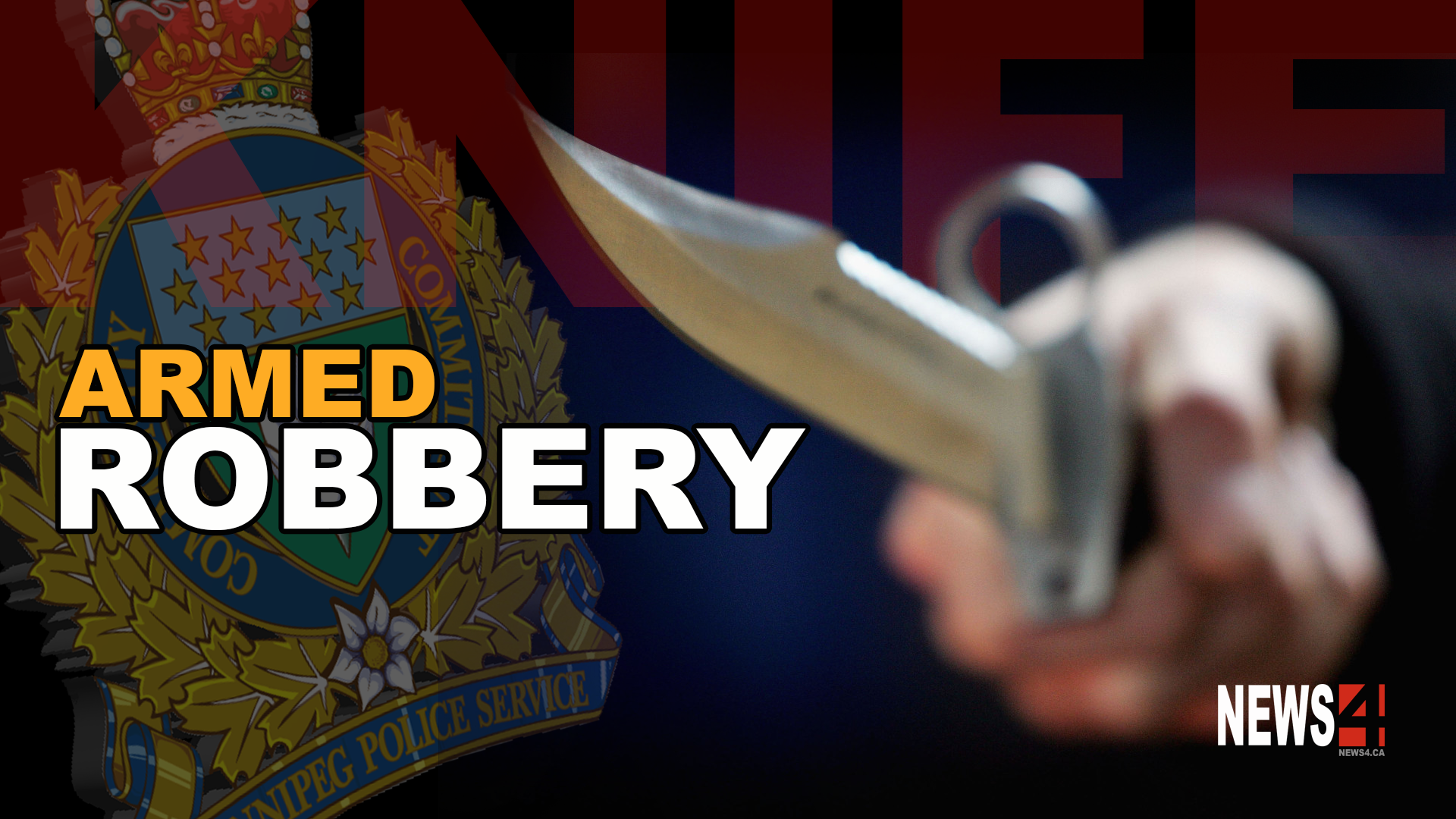 ARMED ROBBER BUSTED AFTER HITTING FOUR BUSINESSES ...