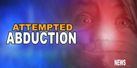 MAN ATTEMPTS TO ABDUCT A CHILD, MOTHER FIGHTS BACK