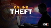 online theft graphic