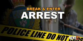 MAN BUSTED AFTER MULTIPLE BREAK-INS OVER 19 MONTHS