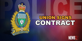 POLICE ASSOCIATION MEMBERS VOTE TO APPROVE CONTRACT