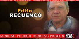 MISSING 67 YEAR OLD MAN, EDITO RECUENCO
