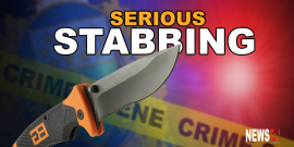 MAN IN CRITICAL CONDITION AFTER BEING STABBED DURING BAR FIGHT