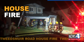 TWEEDSMUIR ROAD BLAZE LATE SATURDAY NIGHT