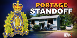Armed and barricaded standoff in Portage la Prairie