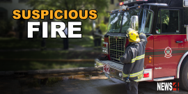 Two suspicious fires on Young Street Saturday night under investigation