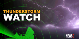 THUNDERSTORM WATCH FOR CITY OF WINNIPEG