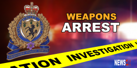 Brandon male arrested after threatening man with a firearm