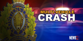 THREE PEOPLE INJURED IN CANADA DAY COLLISION