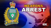 Weapon arrest Graphic