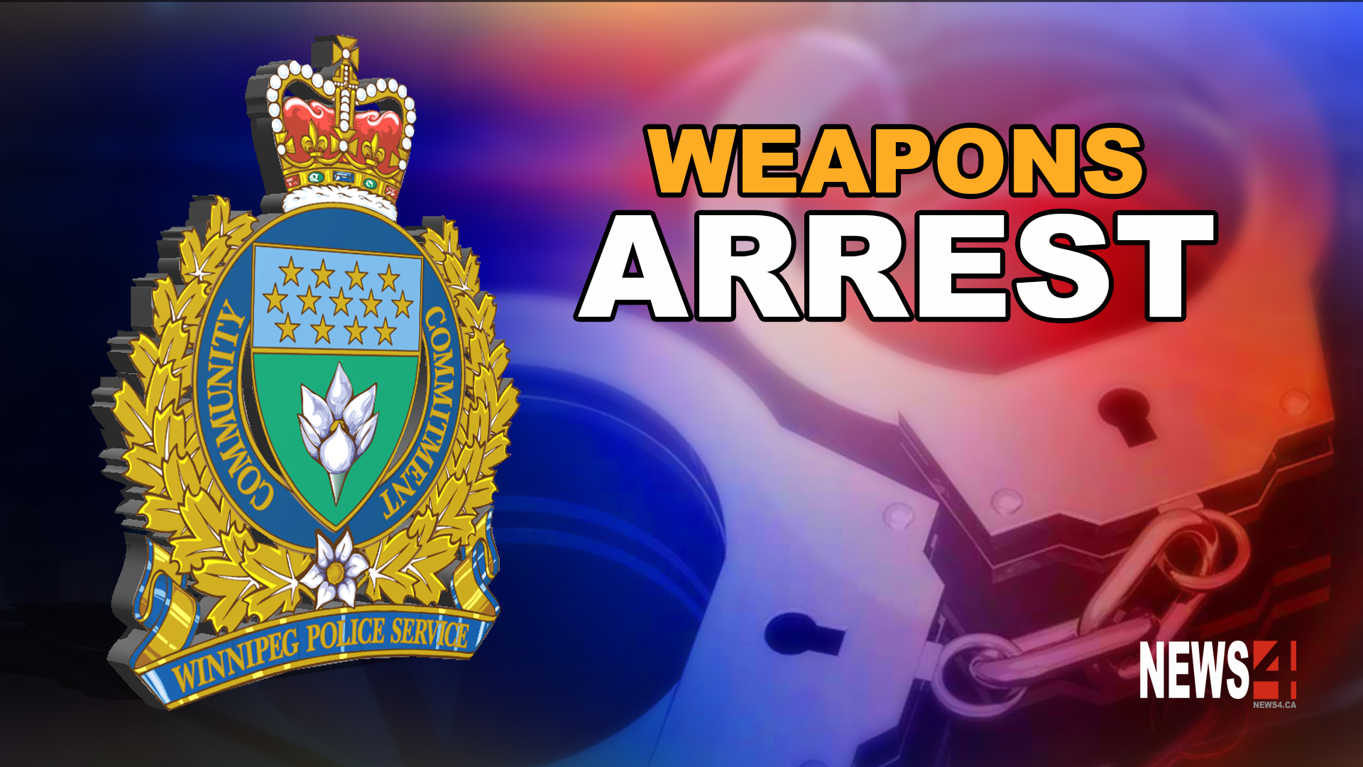 Weapon arrest Graphic
