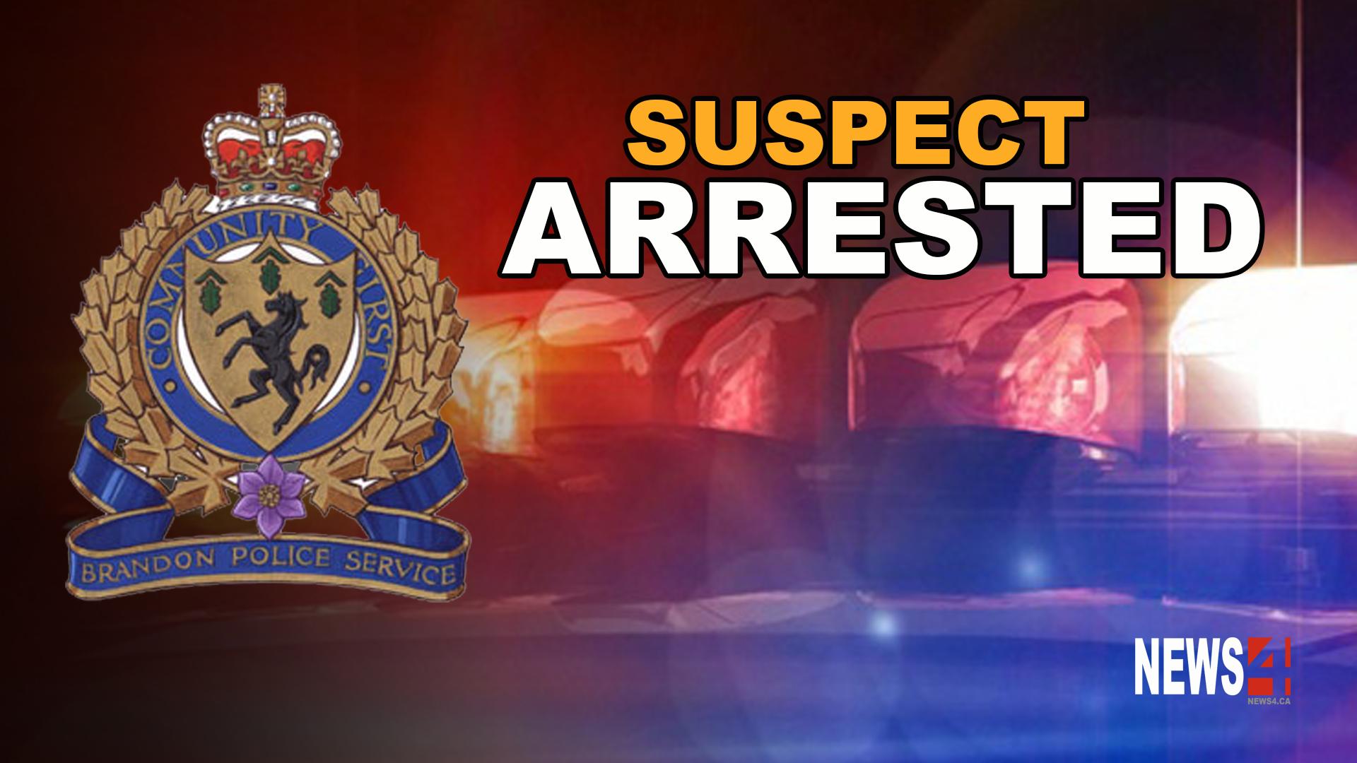 Brandon suspect arrested graphic