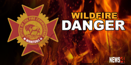 Wildfire danger levels rise heading into long weekend