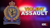violent assault graphic