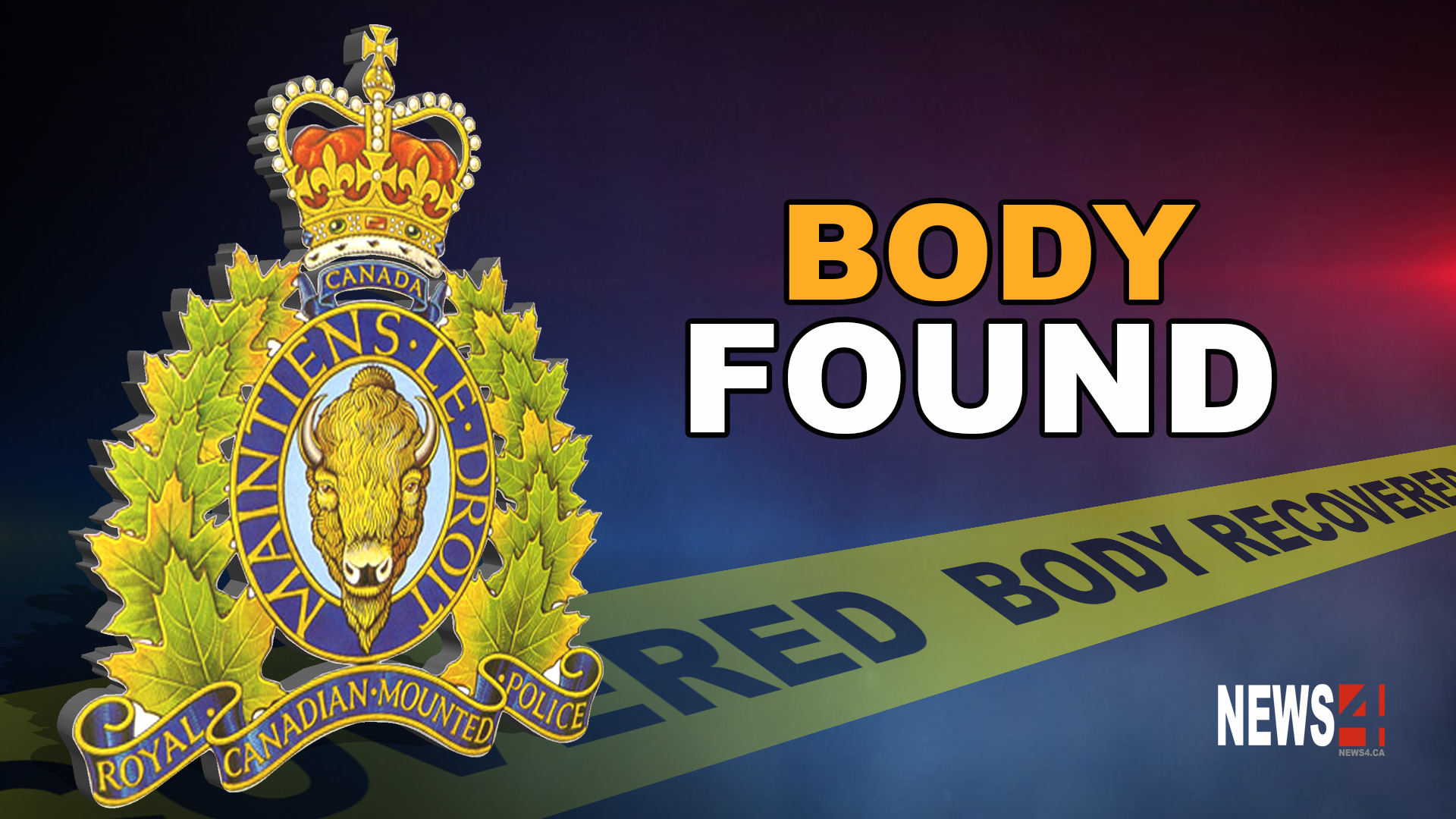 body recovered graphic
