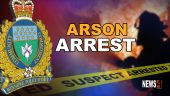 arson arrest graphic