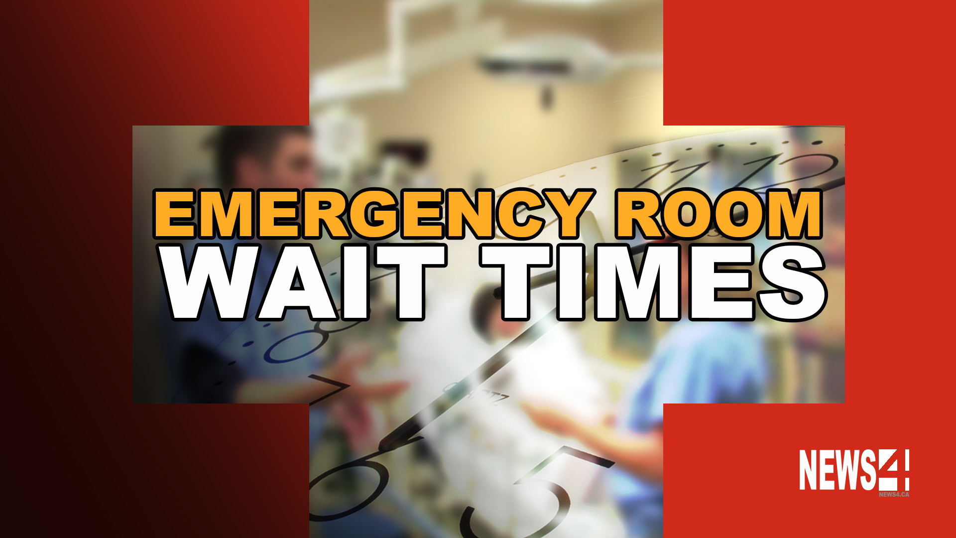 Average Wait Time In Emergency Room Canada