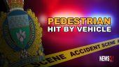 Pedestrian Hit Graphic