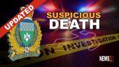 suspicious death update