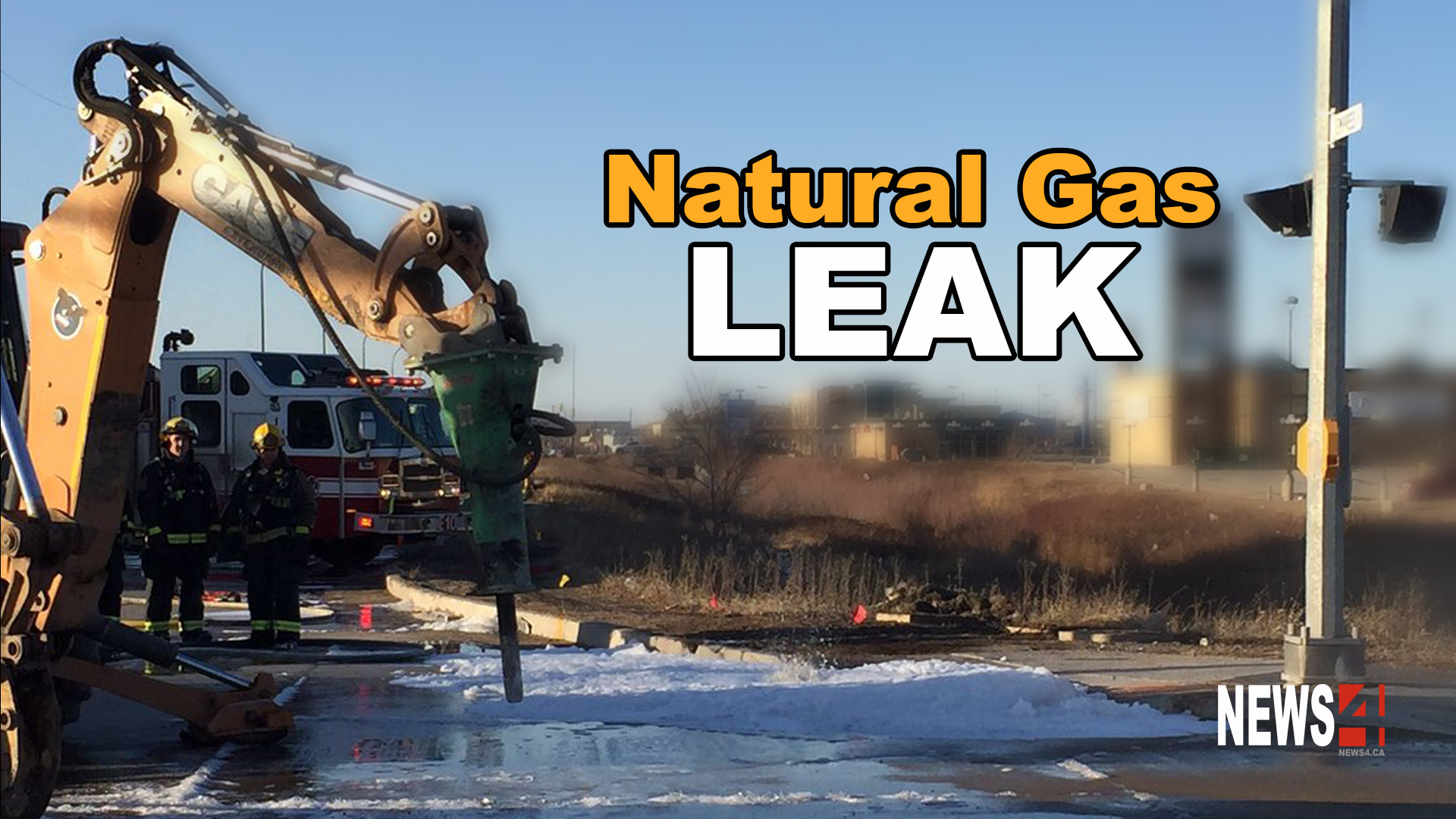 Worked Out In Natural Gas Leak