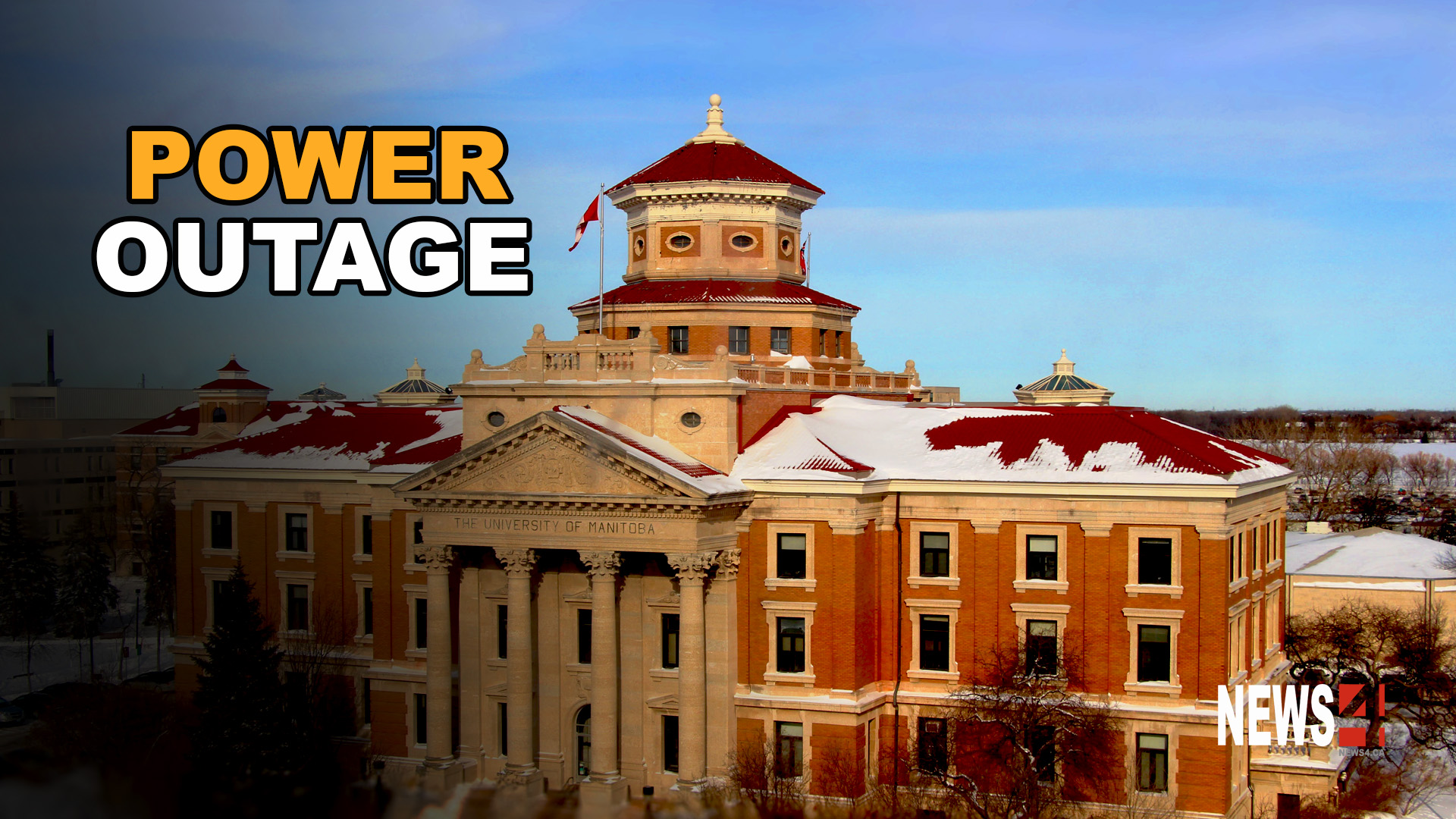power outage cancels classes at university of manitoba