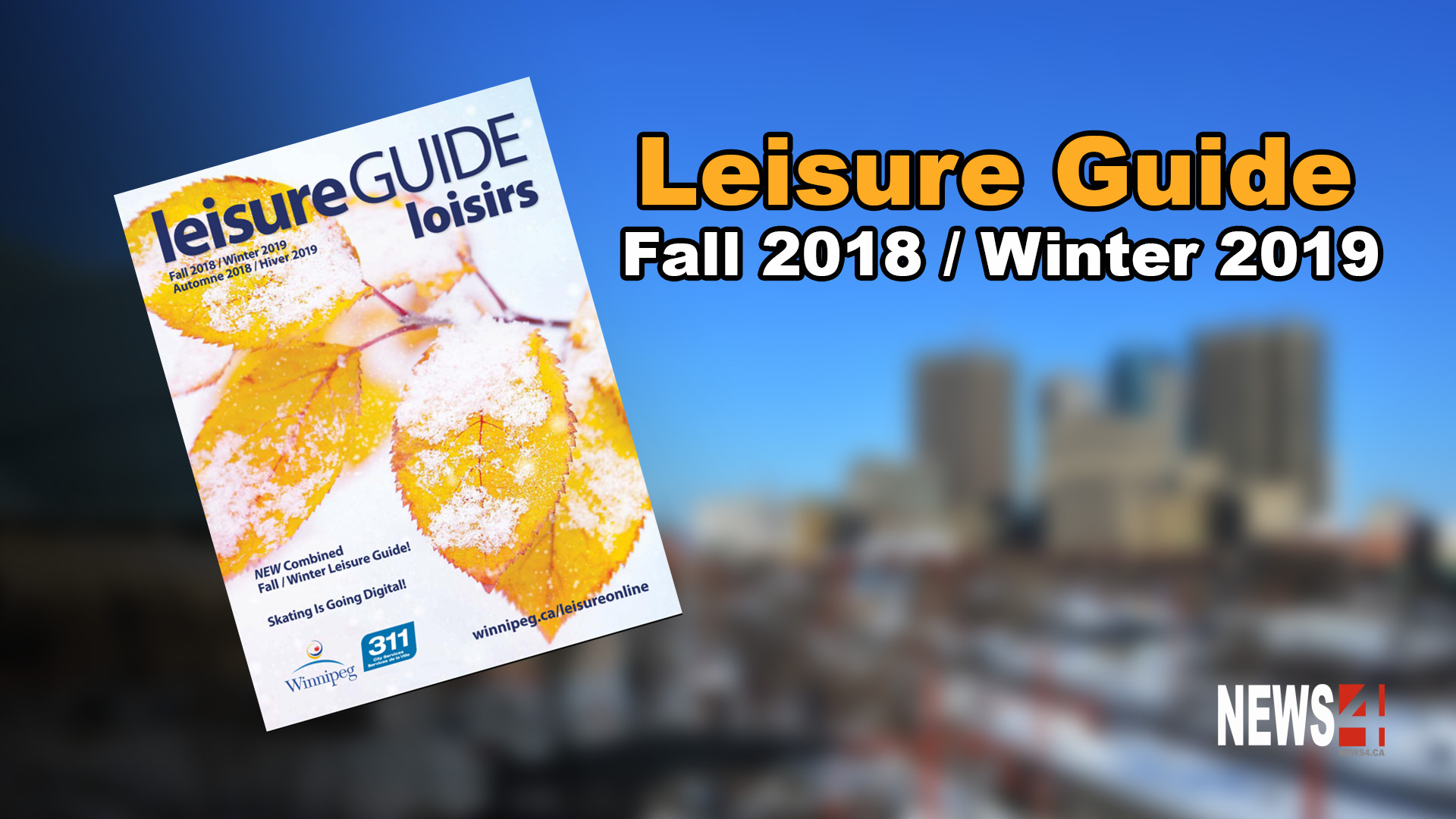 New fall leisure guide released - Winnipeg Free Press
