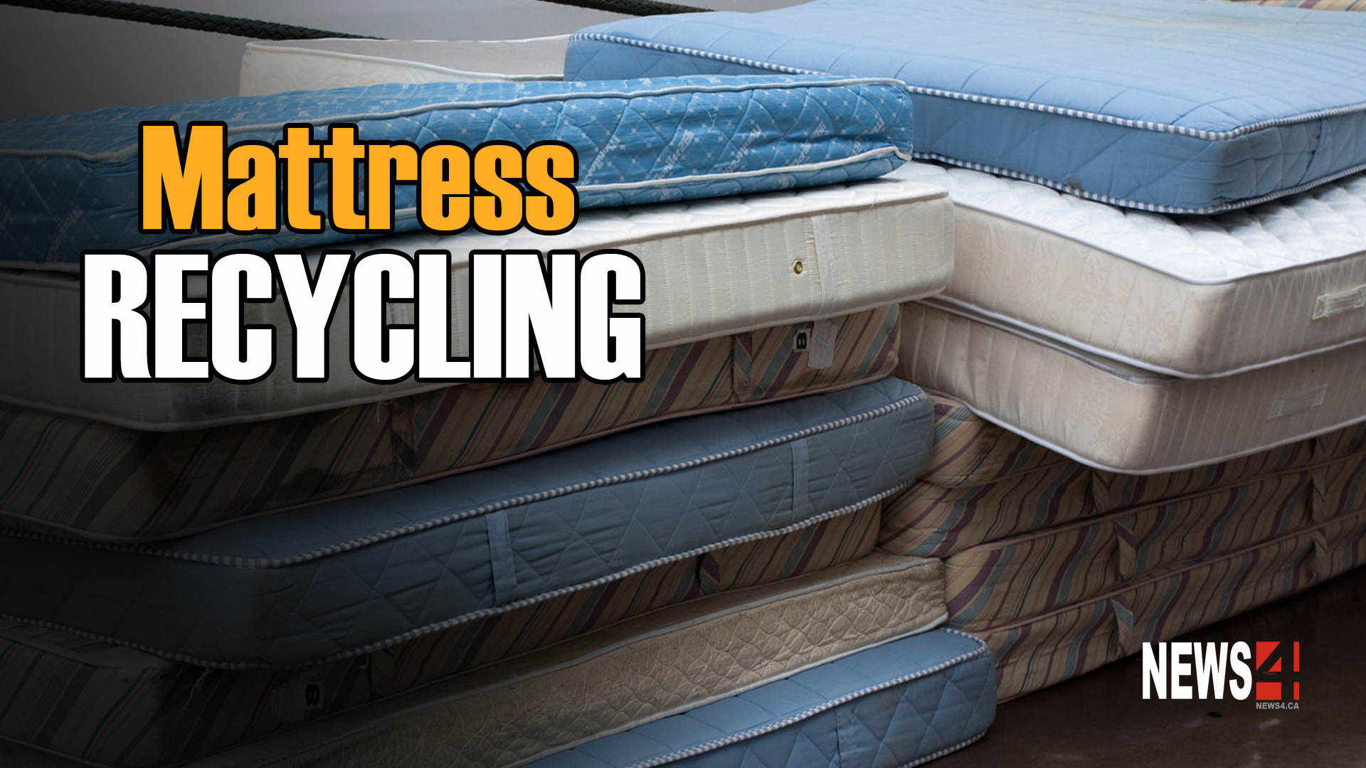 Mattresses Recycling Program Launched News 4