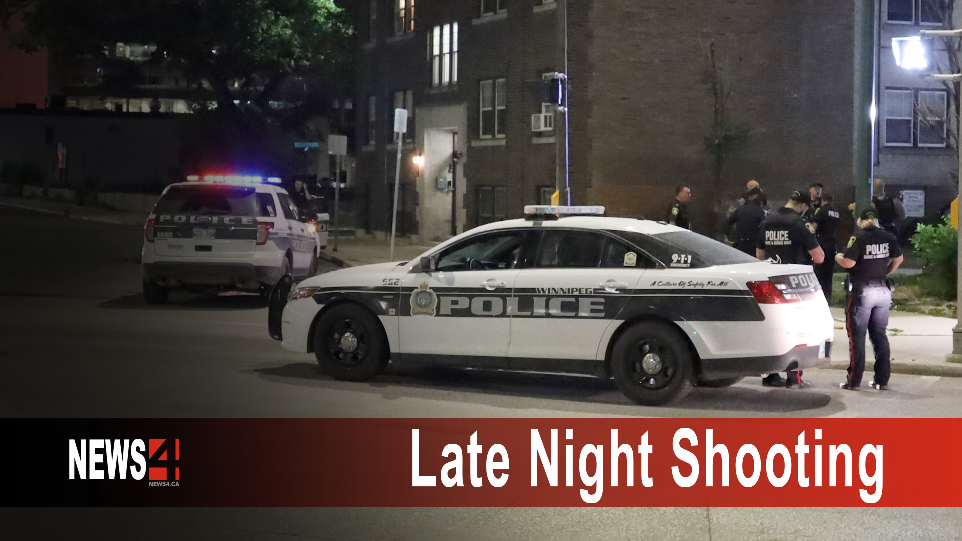 Late Night Shooting Graphic