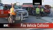 Fire Vehicle Collision Graphic