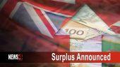 surplus announced