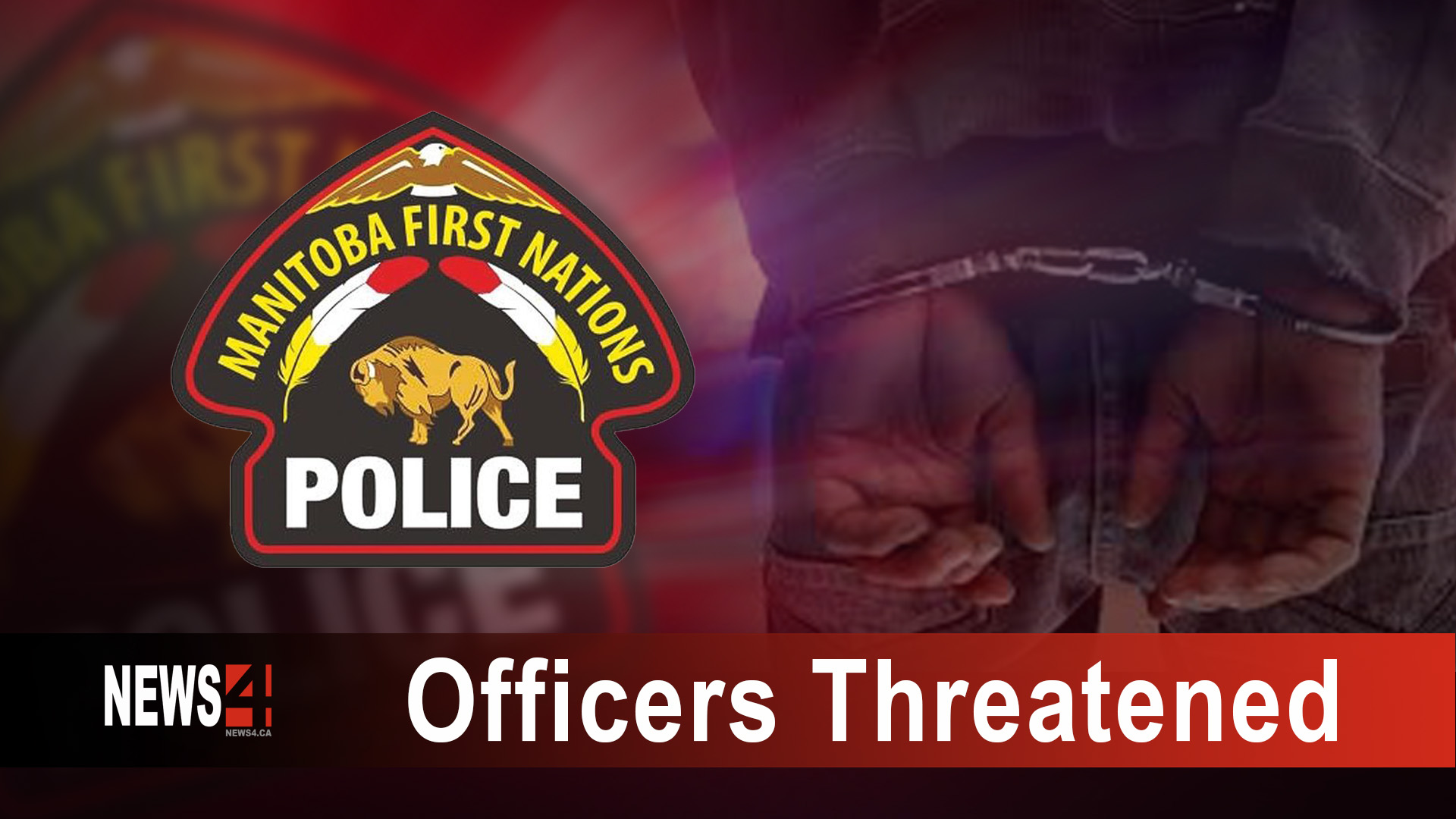 Officers Threatened
