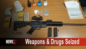 Weapons & Drugs Seized